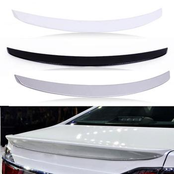 For Toyota Camry 2018 ABS Rear Trunk Spoiler Wing Lip Black White