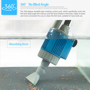 Image 5 - 20/28W Electric Fish Tank  Water Change Pump Aquarium Cleaning Tools Water Cleaner Siphon Water Filter Pump Aquarium Accessories