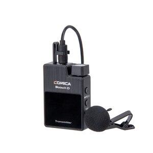 Image 4 - Comica BoomX D 2.4G הדיגיטלי אלחוטי מיקרופון משדר ערכת מיני נייד מיקרופון מקלט עבור טלפונים חכמים וידאו מיקרופון