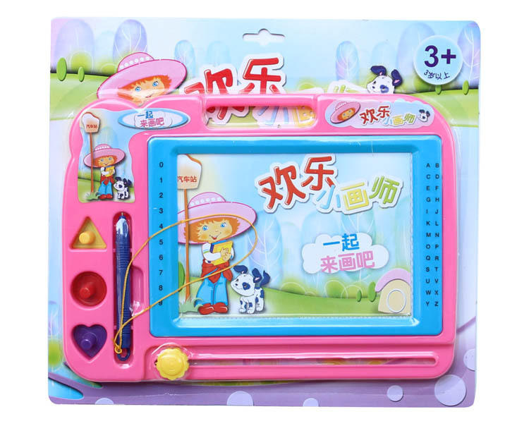 061 Stellar Drawing Board WordPad Children Learning Partners Magnetic Black And White CHILDREN'S Drawing Board Thickened Plate
