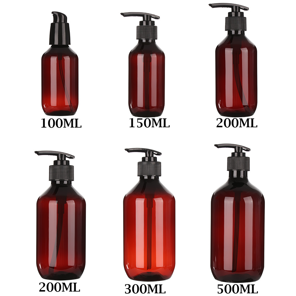 1 шт. антисептик для рук, мыло диспенсер бутылка путешествия пустая бутылка гель для душа с помпой бутылки 100/150/200/300/400/500 мл