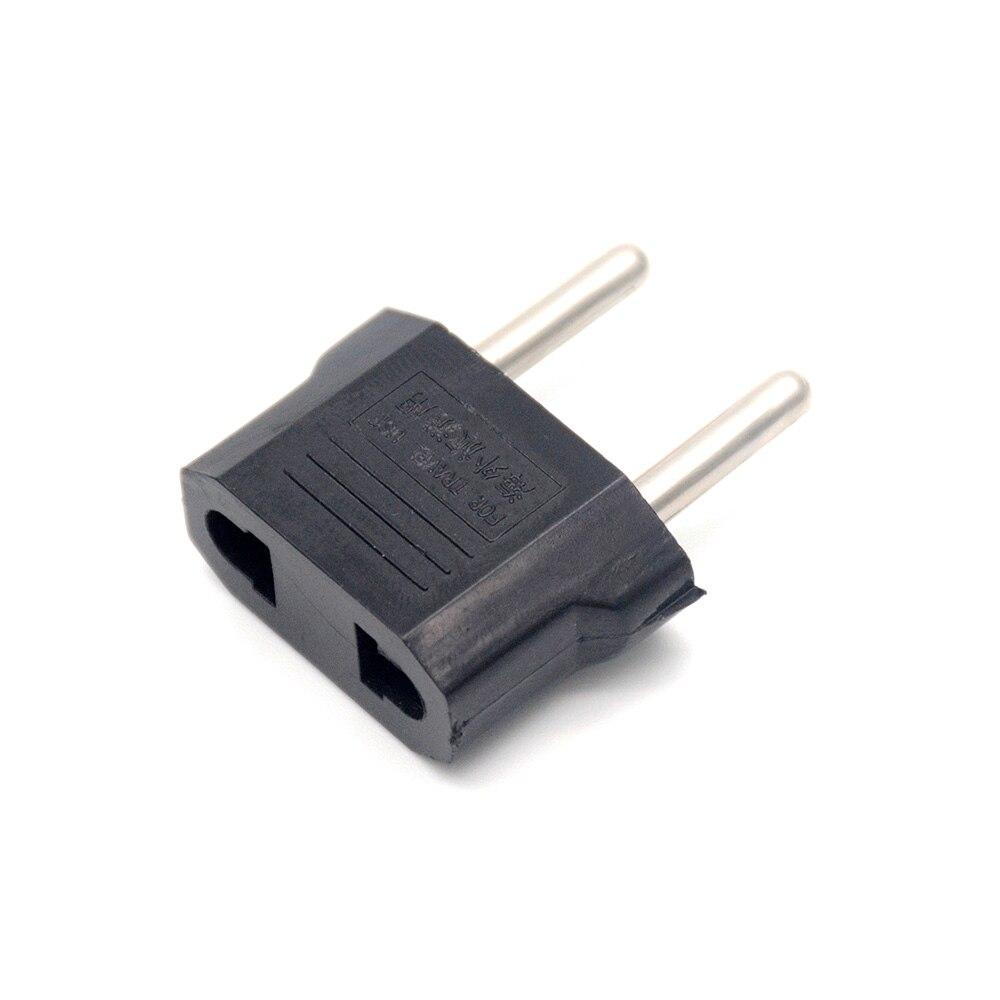 Универсальный адаптер штепсельной вилки европейского стандарта США в ЕС для домашнего использования Европейский адаптер конвертер круглы...