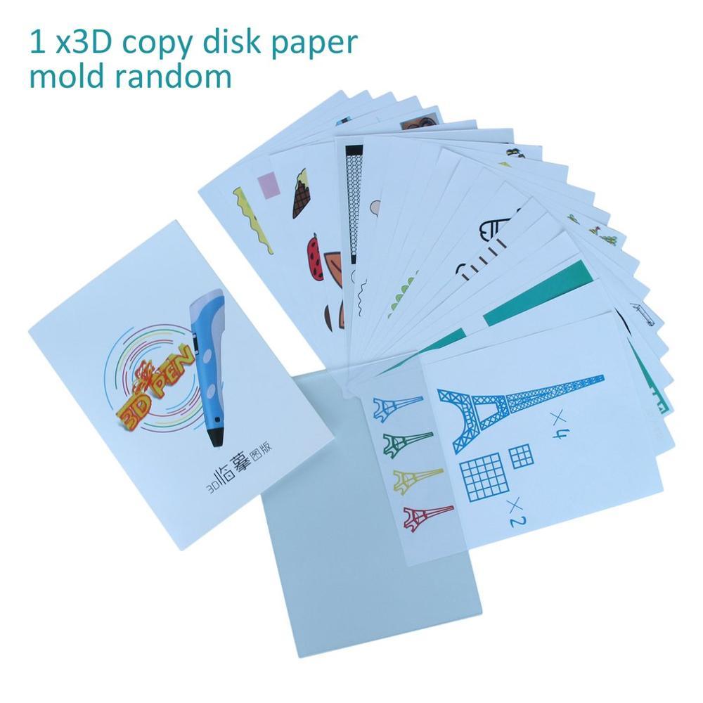 Heißer Verkauf A4 Größe Kinder Zeichnung 3D Kopie Platte Papier Form für 3D Druck Stift Zeichnung Schablonen & Doodle XP beste Geschenk Für Kinder