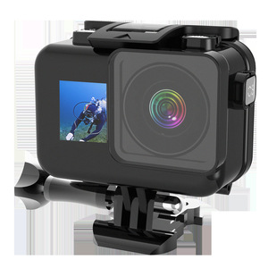 Image 5 - 61M Waterproof Case Set For Dji Osmo Action Accessories Surfing Diving Underwater Housing Box  For Dji Osmo Action Case