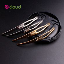 E-clould вязание крючком оплетка аксессуары для волос инструменты для дредов волосы, удлиняющая накладка на волосы игла крючок