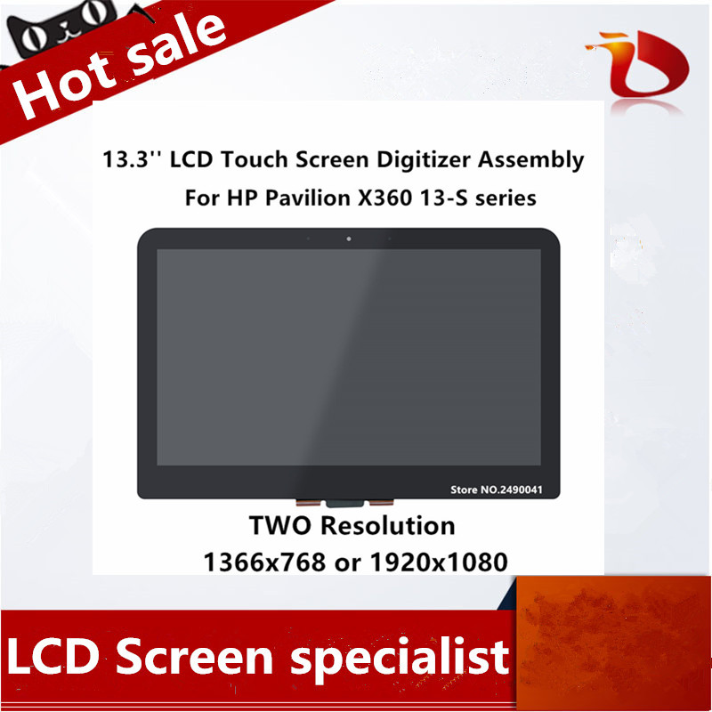 """HP Pavilion X360 13-A013CL  LED LCD Screen for 13.3/"""" HD Display New Non-Touch"""