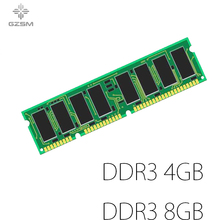 GZSM Desktop Memory DDR3 4GB 8GB for PC3-8500 PC3-10600 PC3-12800 Memory Cards 1066MHZ 1333MHZ 1600MHZ Memory RAM 240pin 1.5V lifetime warranty for samsung 4gb 8gb 12gb 16gb 32gb 1333mhz pc3 10600r 4g ecc reg server memory fb dimm ram