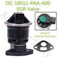 Оригинальный хорошее качество EGR клапан для Honda Accord Кнопка isuzu oasis 2.3L 1998-2002 OEM 18011-PAA-A00 18011PAAA00 EGV980T EGR4341
