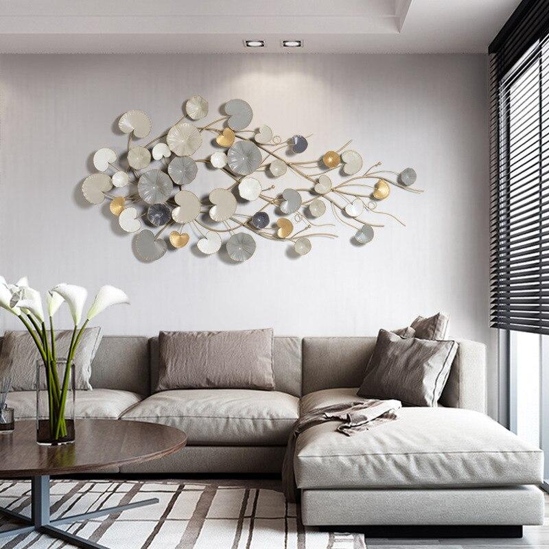Настенные украшения, подвесные Креативные украшения для спальни, ресторана, магазина, настенные украшения на 3D цветочной стене в Северной Е... - 4