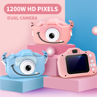 Children Kid Mini WiFi Camera Digital Waterproof HD 12MP 2.0 Inch Camera Photo Video USB TF Baby Small SLR Kids Gift 2019 New