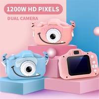 Children Kid Mini WiFi Camera Digital Waterproof HD 12MP 2.0 Inch Camera Photo Video USB TF Baby Small SLR Kids Gift 2019 New