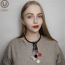 Новый модный чокер ukebay ожерелья для женщин ожерелье в стиле