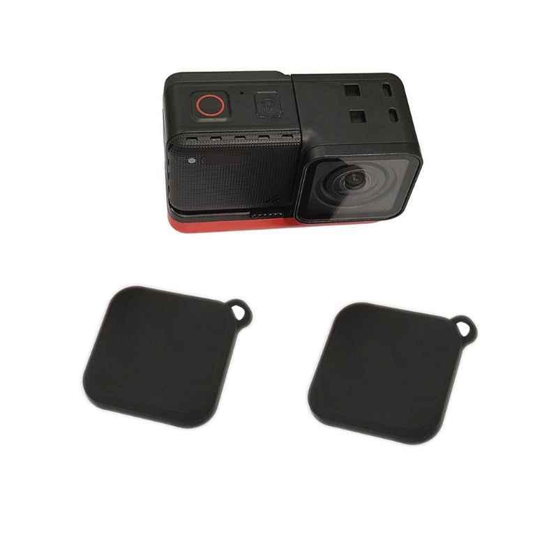 غطاء عدسة سيليكون ل Insta360 واحد R 4K زاوية 360 درجة كاميرا بانوراما اكسسوارات N1HD