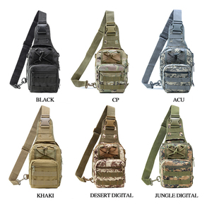 Image 5 - TIANHOO High quality Multifunctional chest bag leisure camouflage sports outdoor tactical shoulder bags