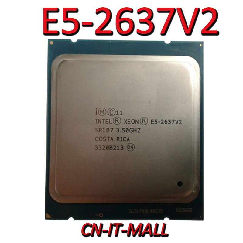 Intel Xeon E5-2637V2 CPU 3.5GHz 15MB Cache 4 Cores 8 Threads LGA2011 Processor