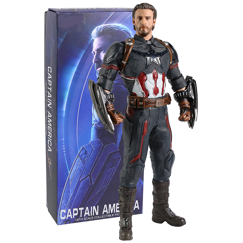 Avengers Endgame Captain America 1/6th Scale Collectible Figure Model Toy
