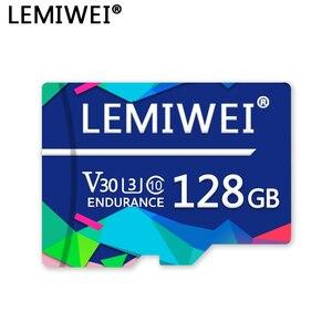 Lemiwei Memory Card 128GB 64GB V30 U3 Class 10 High Speed TF Flash Card 16GB 32GB For Smartphone PC Camera