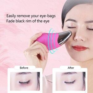 Image 3 - Brosse électrique nettoyante et masseuse de visage, brosse électrique étanche, pour tous les Types de peau, Rechargeable par USB