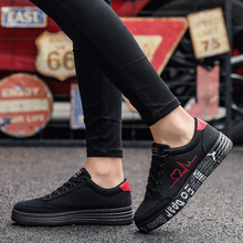 Women Vulcanized Shoes Spring Summer Casual Shoes Ladies Breathable Canvas Sneakers Female Graffiti Printed Flat Shoes Plus Size