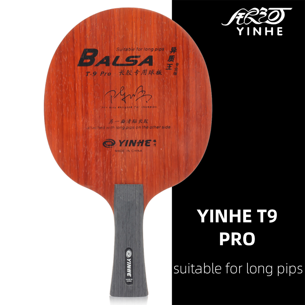 Yinhe Galaxy T9PRO Professional Edition Long Pips-out Rubber  Special Blade Table Tennis Racket Ping Pong Blade