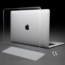 Matte Crystal Transparent Clear Case For Mac book Air Pro Retina 11 13 15 16 Touch Bar A2338 M1A2251 A2159 New Air 13 A1932 2020