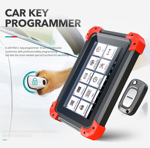 Image 2 - X100 PAD OBD2 Auto Key Programmer Diagnostic Scanner Automotive Code Reader IMMO EPB DPF BMS Reset Odometer EEPROM Update online