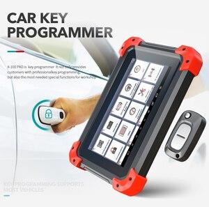 Image 2 - X100 PAD OBD2 Auto Schlüssel Programmierer Diagnose Scanner Automotive Code Reader IMMO EPB DPF BMS Reset Kilometerzähler EEPROM Update online