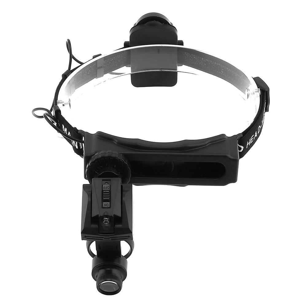 Купить с кэшбэком 5X,8X,13X,20X,25X,28X Headband Magnifying Glasses Eyewear Loupe LED Light Helmet Magnifier Glass for Repair Jeweler Third Hand