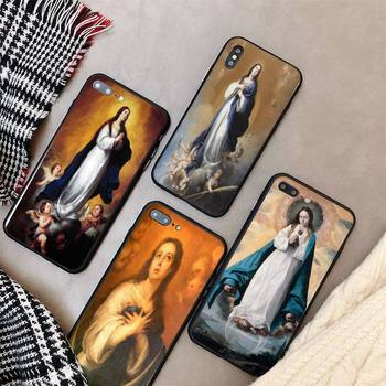 Yinuoda Art Bartolomé_Esteban Perez Murillo Immaculate PhoneCase cover For iPhone X 8 7 6 6S Plus XS MAX 5S SE XR 11 12 Pro max image