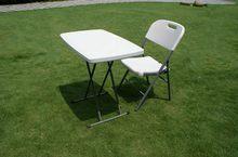 Table Portable pliable pliable Camping randonnée bureau voyage pique-nique en plein air nouveau noir Ultra-léger pliable tabouret tables HWC