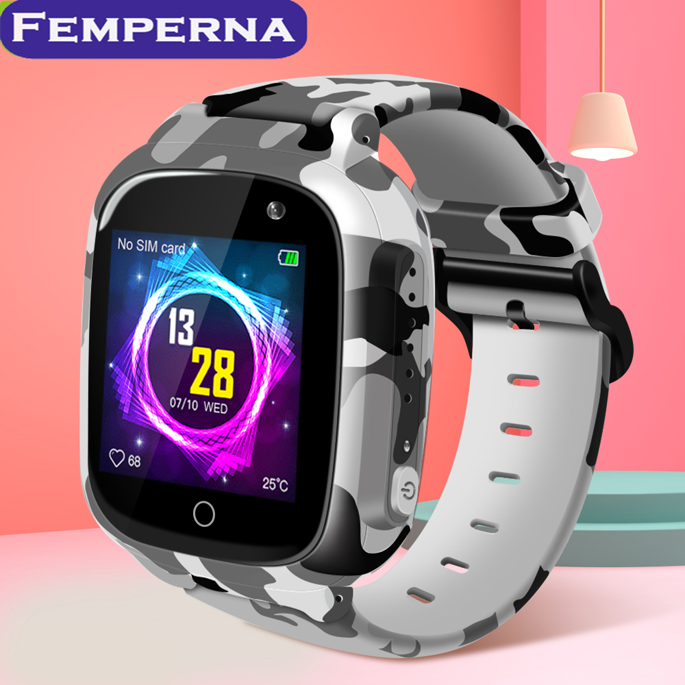 Femperna LEC2 Kids Smart Watch IP67 Waterproof Super Long Standby SOS Camera Smart Watch for Android IOS|Smart Watches| |  - AliExpress