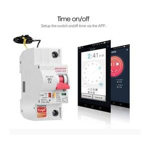 Image 4 - Smart Life(tuya) app 1P WiFi Smart Circuit Breaker overload short circuit protection with  Alexa google home for Smart Home