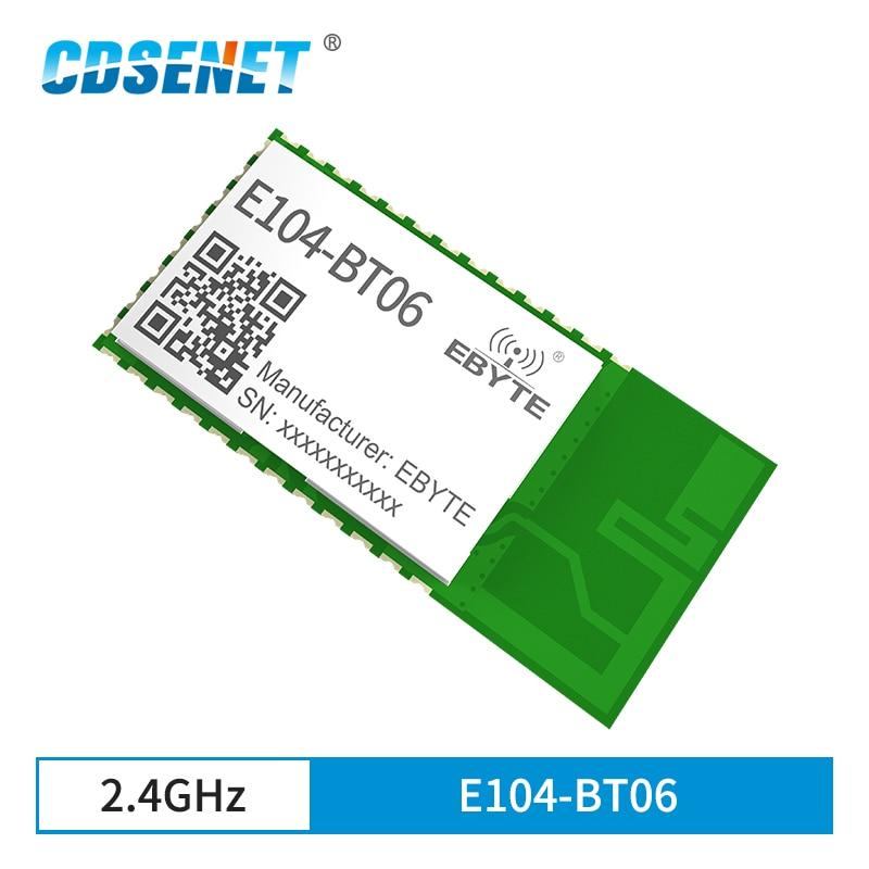 BLE4.2 IBeacon 2.4GHz Bluetooth Module 3dBm CDSENET E104-BT06 Broadcast Wireless Transceiver Receiver UART PCB Antenna SmartHome