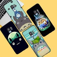Totoro Cartoon For Samsung Galaxy S6 S7 Edge S8 S9 S10 Plus Lite Note 8 9 10 A30 A40 A50 A60 A70 M10 M20 phone Case Cover funda