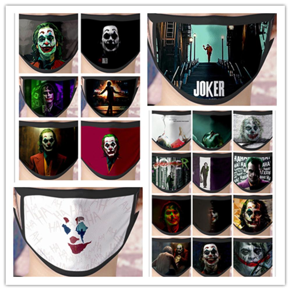 Batman Joker Face Mask Cosplay Costume Accessories The Dark Knight Heath Ledger Mascarillas Ice Silk Masks New
