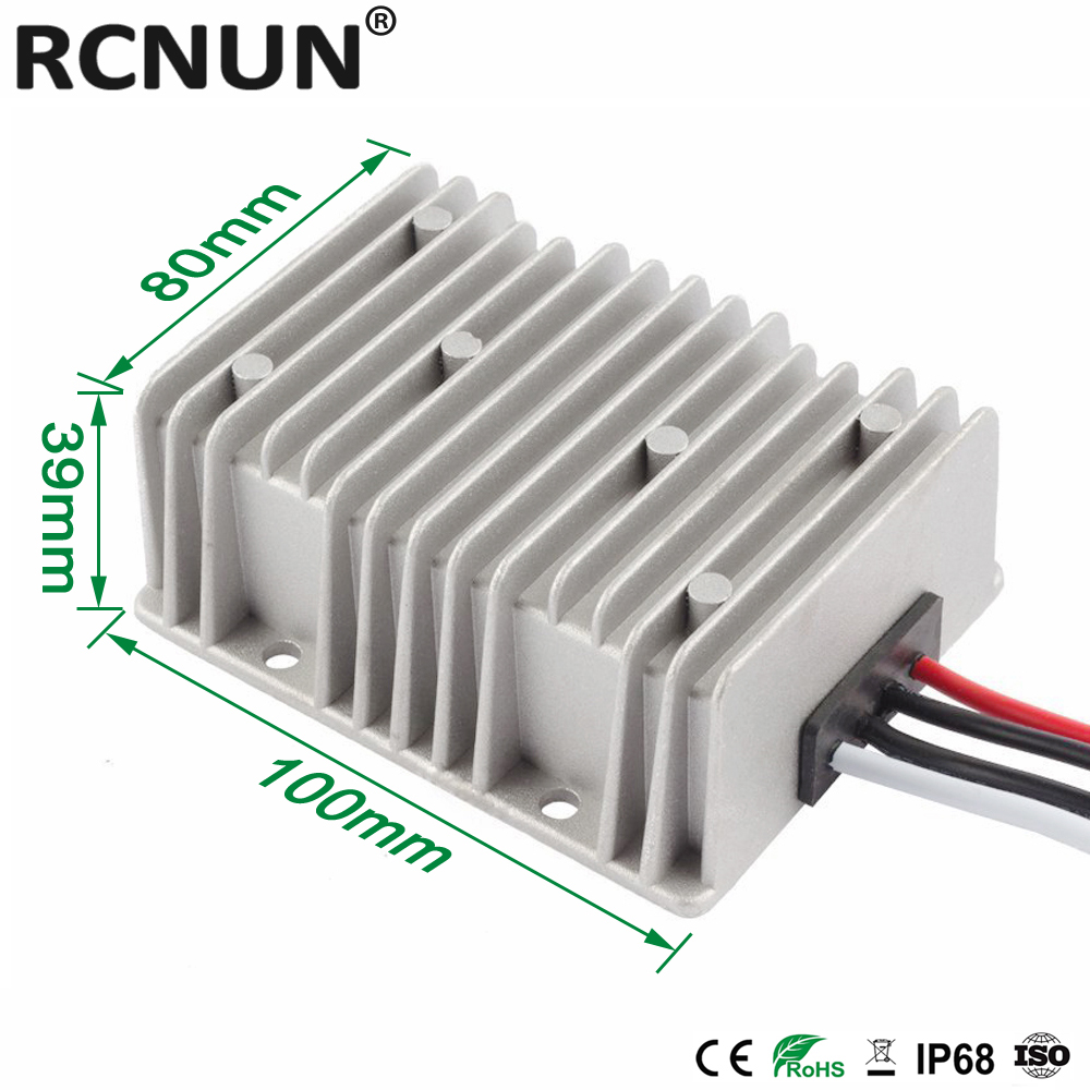 Image 3 - 8 36V TO 12V 15A 20A 25A Automatic Boost Buck DC DC Converter 13.8 Volt to 12 Volt Car Power Supply Voltage Stabilizer CE RoHSdown converterconverter 24v 12v24v 12v -