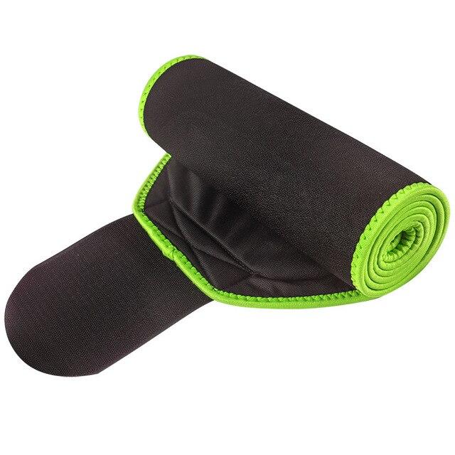 HEHE Custom Logo Slim Waist Sweat Sauna Belt Women Neoprene Abdominal Slimming Belt For Weight Loss Waist Supporter 4
