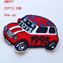 Patches Badges Stickers Decorative-Patch Backpack British-Flag Applique Car-Icon Cartoon
