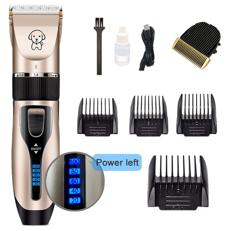 Power-A-Pet Clipper Dog Grooming haircut Trimmer Shaver Set