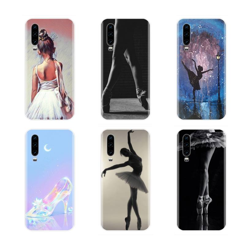 Ballet dance Girl beautiful Soft Silicone TPU Phone Cover For ...