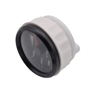 Image 5 - 120kmh/200Kmh Odometer 85mm Boat GPS Speedometer Truck Car Speedometer IP67 Waterproof GPS Gauge Meter Speed Odometers LCD Gauge