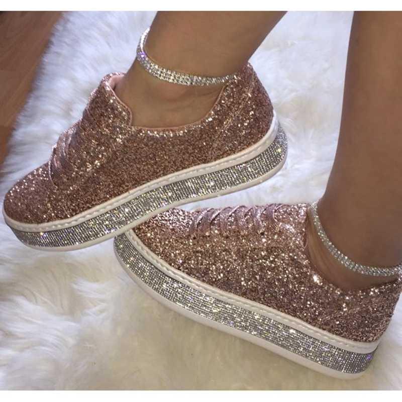 Laamei kadınlar Flats Sneakers Vintage ayakkabı kadın Chaussures Femme Sapato platformu Zapatos De Mujer Moccasins B kadın ayakkabı