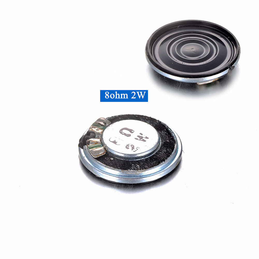 1/2/4PCS/set Ultra-thin Mini Loudspeaker 28mm 8ohm 2W Speaker High Frequency For SD USB Speaker Bluetooth Speaker Repair Tools