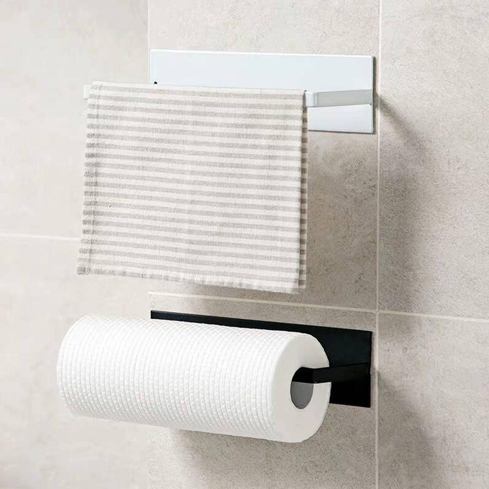 Paper Towel Holder Kitchen Towel Holder Wall Mount Towel Roll