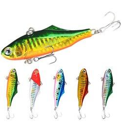 TOP! cały 5 kolorów tonący Vib Fishing Lok Ken Minnow sztuczna przynęta wibracja zimowy lód pełna warstwa pływacka twarda przynęta Bass 7. w Przynęty od Sport i rozrywka na