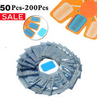 50/100/200Pcs Replacement ABS Gel Pads EMS Abdominal Muscle Stimulator Hydrogel Gel Fitness For Abdomen Massage Machine Stickers