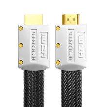 2019 de 0,3 M 1 M ad alta Placcato Oro espina HD monitor connettore 1,4 V 1080 P maschio cable Micro HDMI