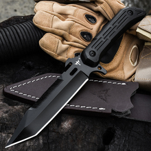 WIND Outdoor hunting knife self-defense military kn