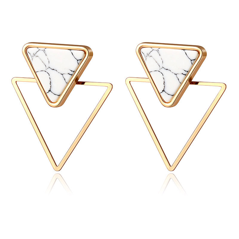 H5c2a0f5653444ab884f8f96fc63eb71c9 - New Statement Drop Earrings For Women Fashion Gold Earrings Acrylic Geometric Red Dangle Earring Wedding Brinco Jewelry