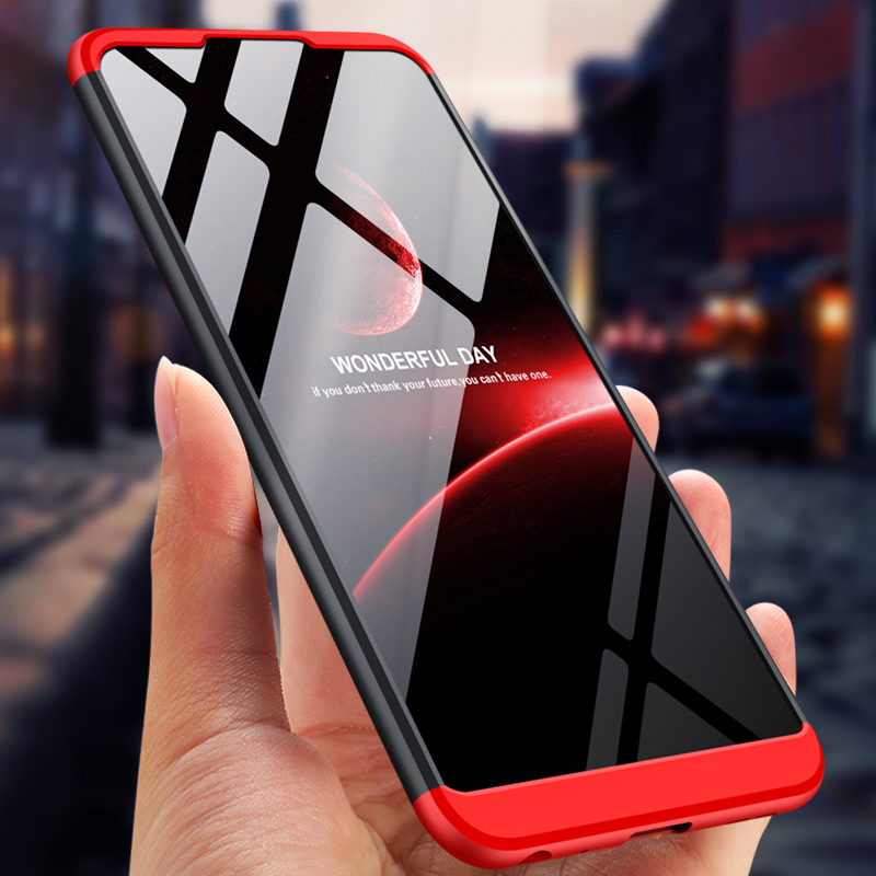 GKK Case for <font><b>ASUS</b></font> ZB601KL ZB631KL 3 in <font><b>1</b></font> Full Protection Matte Hard PC for <font><b>Zenfone</b></font> <font><b>Max</b></font> <font><b>Pro</b></font> M1 M2 Case Phone Cover Fundas image